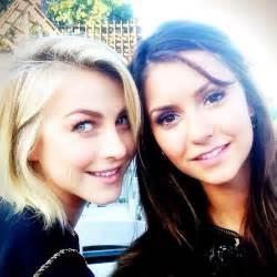 jules hough hair julianne hough and nina dobrev celebrity best friends