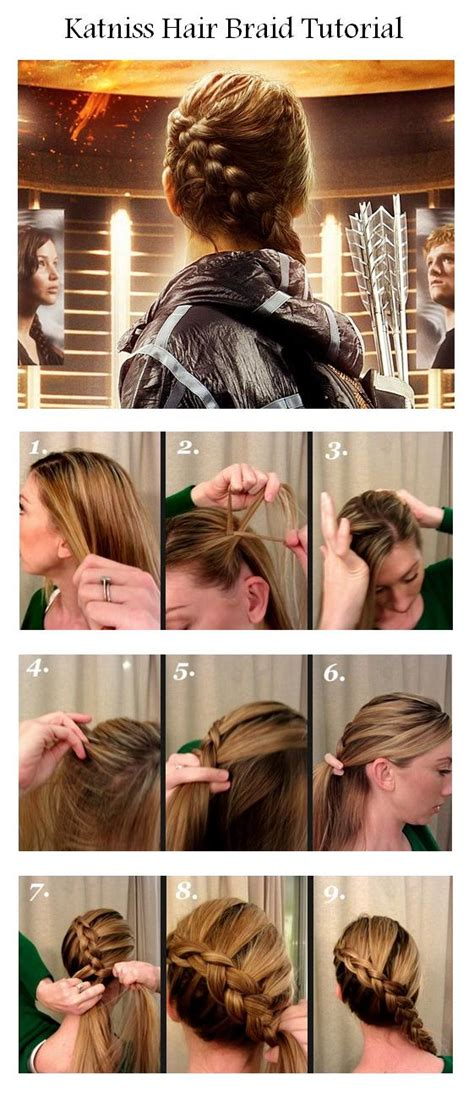 hunger games hairstyles tutorial pin by lisette kuijt on hair pinterest