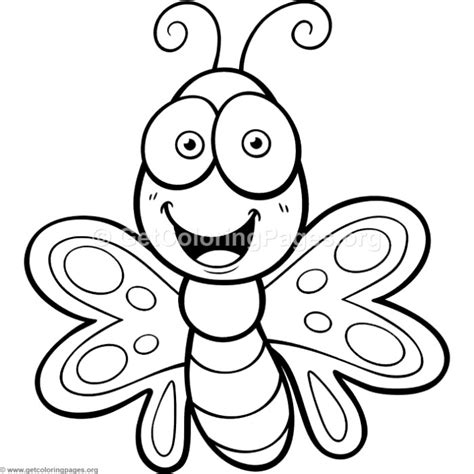 small butterfly coloring pages printable cute small butterfly coloring pages getcoloringpages org