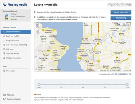 samsung find my mobile help how to find lost stolen galaxy s4 jayceooi