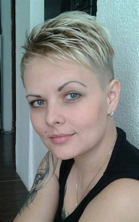 short back and sides pixie hair styles short back and sides pixie cuts etc pinterest