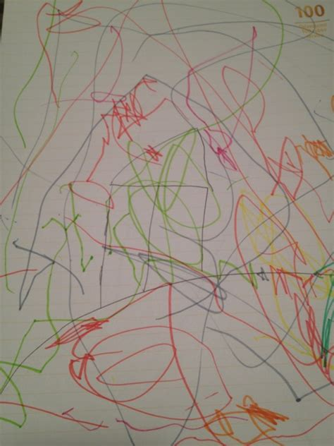 scribble scrabble here is a lovely scribble drawing by kristof age 3