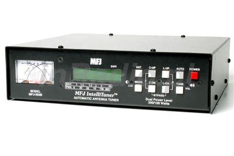 mfj 993b dual power auto tuner 300 150w 1 8 30mhz automatic antenna tuner atu ebay