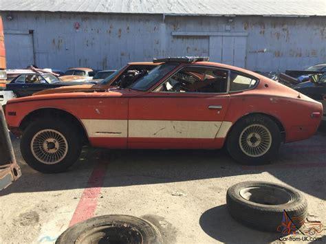 1972 nissan datsun 240z 240z datsun 1972 complete needs restoration 260z