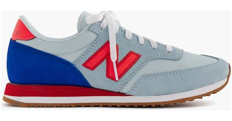 new balance 620 sneaker j crew s new balance 620 sneakers in blue lyst