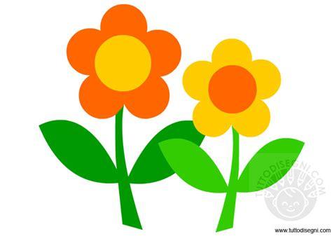 disegni colorati fiori fiori immagine colorata tuttodisegni
