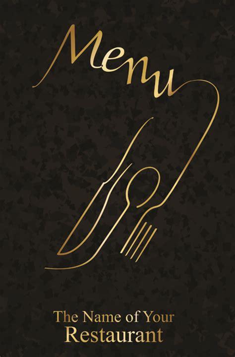 design cover menu restaurant classic restaurant menu covers design elements vector 05