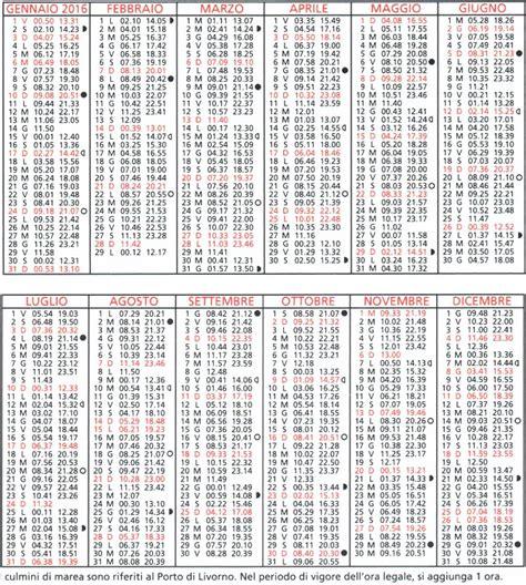 tavole di maree calendario maree da la capanna pescatore di mauro balestri