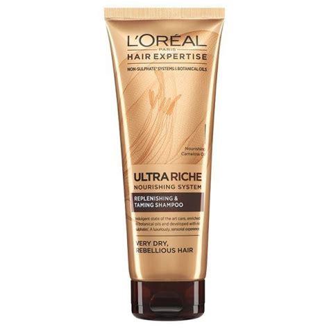 shoo loreal hair expertise lor 233 al hair expertise riche nourishing shoo 250ml