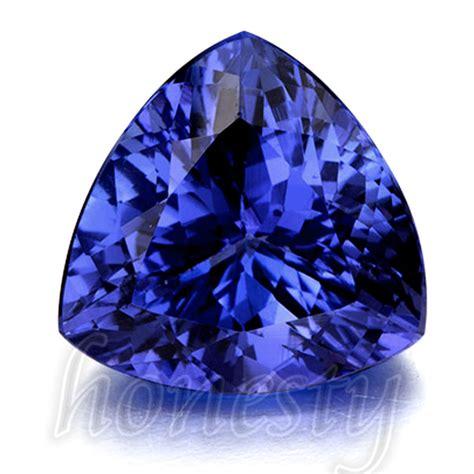 beautiful blue tanzanite aaa 10mm stunning trillion cut