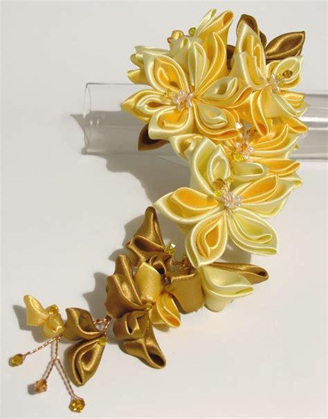 Pita Yellow Headband T2909 tiaras kanzashi
