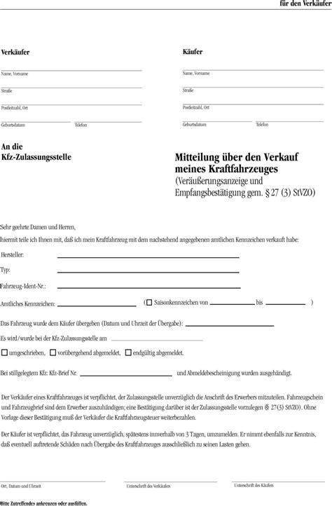 Kaufvertrag Auto Privat Online Ausf Llen by Kaufvertrag Kfz Privat Kostenlose Vorlage Kaufvertrag