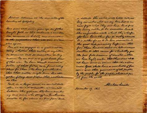 where did lincoln write the gettysburg address civil war deadwrite s dailies