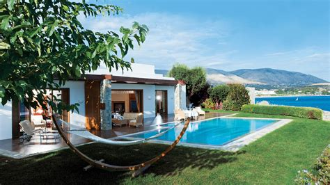 Pool Houses With Bars by The Royal Villa In Athens Grand Resort Lagonissi