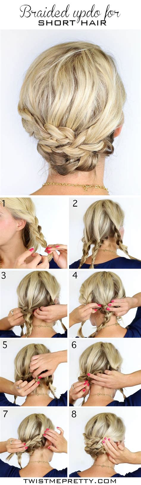 hairstyles braids for short hair 12 pretty braided hairstyles for short hair pretty designs