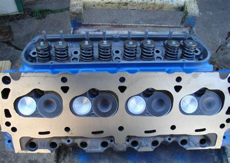 Ford 302 Heads by 1968 Ford 302 4v Heads