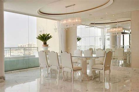luxury design floors luxury penthouse dining room with marble floors
