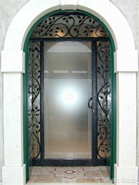 porta ferro battuto tessaro porte finestre e serramenti