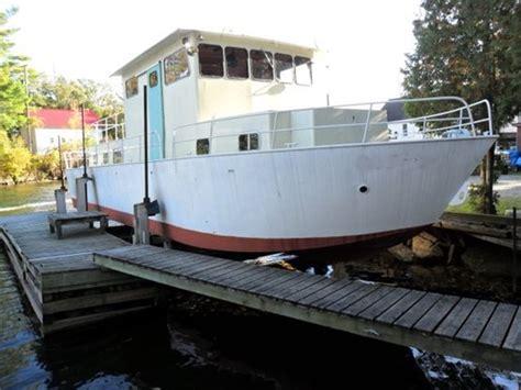small fishing boats ontario print listing custom built steel river boat charter