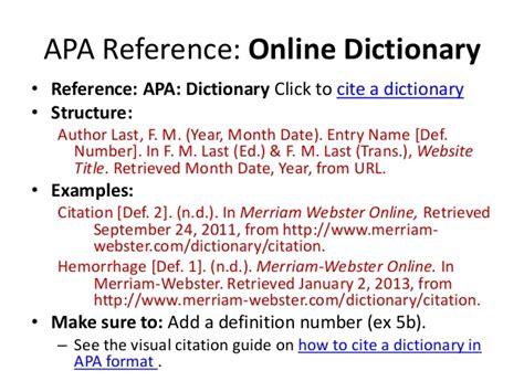 Apa Format Definition | apa style research proposal