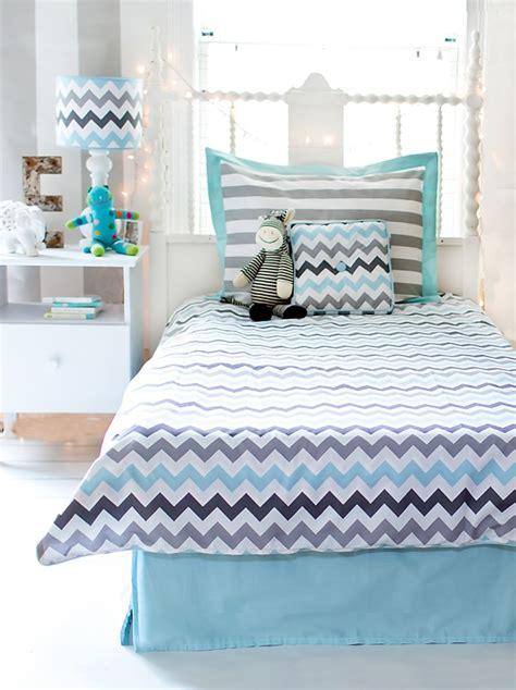 chevron bed linen aqua chevron kid bedding kid bedding chevron aqua kid