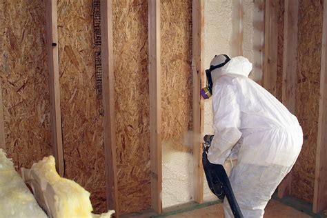 best spray foam insulation spray foam insulation is best