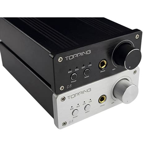 Topping D3 topping d3 decoder usb optical coaxial bnc dac in