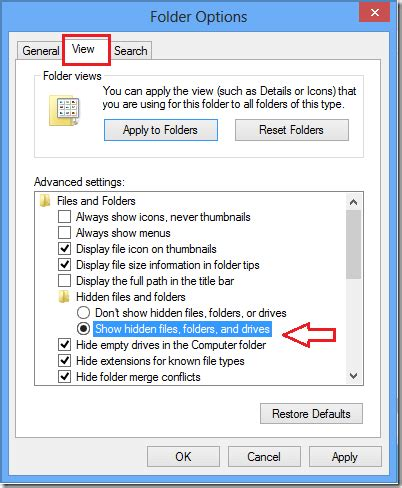 Daily Tips For Geeks by Windows 8 Daily Tips How To Show Files And