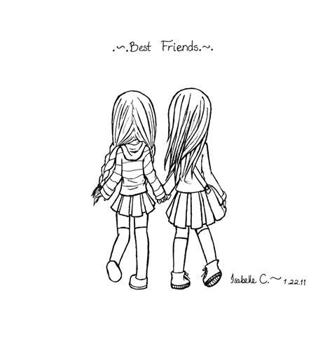 cute drawings of friendship best friend heart drawings hipster cute drawings of friendship how to draw two cute girls