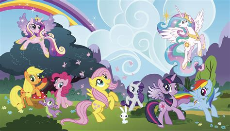 my little pony bedroom wallpaper xl my little pony ponyville prepasted wallpaper mural
