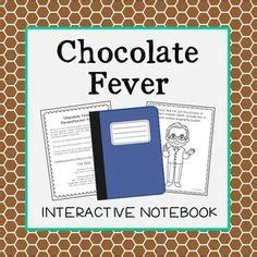 chocolate fever book report fourth grade interactive notebooks and summary on