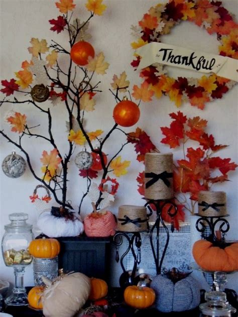 Thanksgiving Decorations To Make At Home by 17 Creative And Easy Diy Home Decor Crafts For The Thanksgiving Holiday Style Motivation