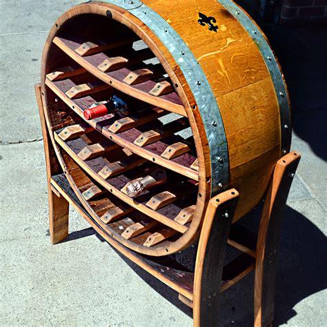 Wine Racks Made Out Of Wine Barrels by Napa General Store Big Wine Barrel Wine Rack