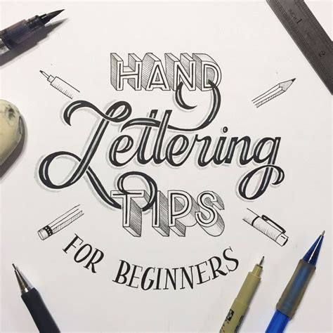 free tutorial hand lettering hand lettering for beginners a guide to getting started