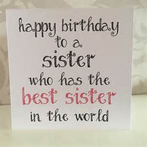 25 best ideas about birthday cards for sister on
