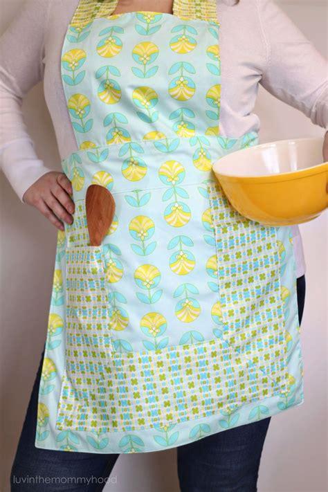 sewing pattern for reversible apron free tutorial jeni reversible apron an art gallery
