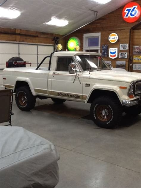 jeep j10 golden eagle jeep other truck 1978 white for sale jeep j10 1978 golden