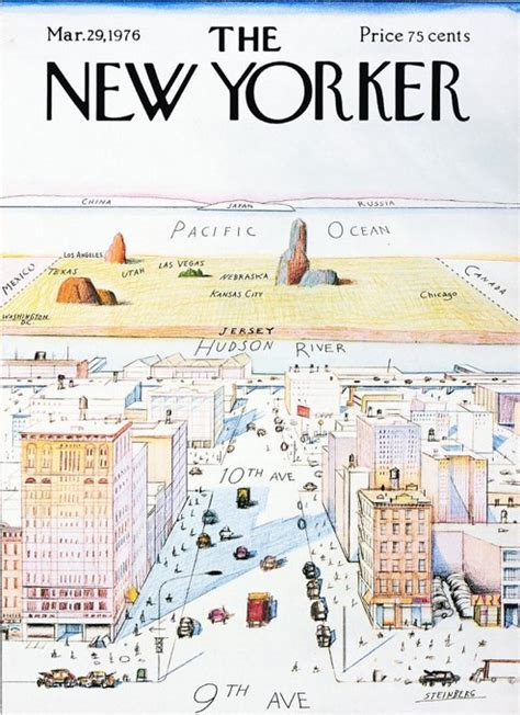 new yorker map of the world MEMEs