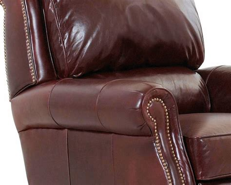 recliners made in america american made reclining leather chair martin cl701