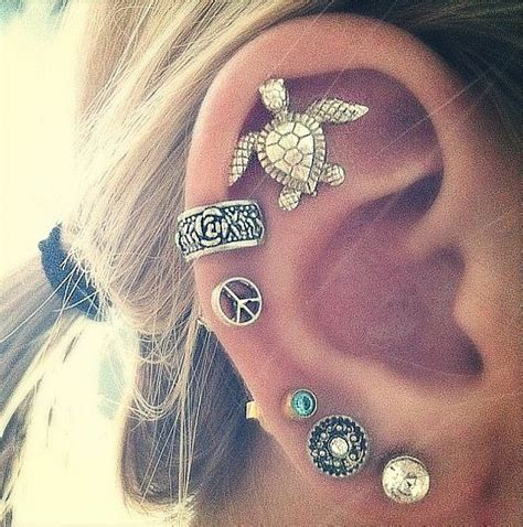 the gallery for gt types of earrings for cartilage