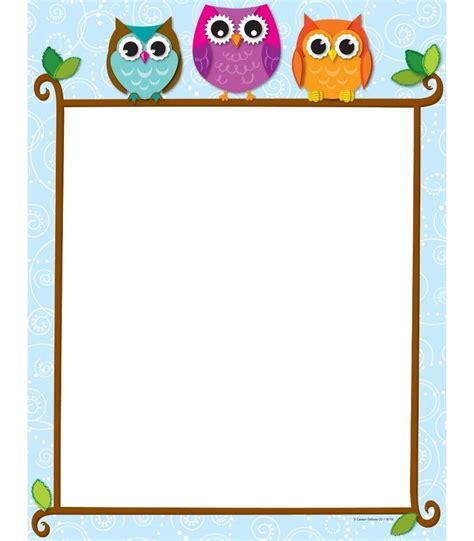 Owls Home Decor 369 best newsletter borders amp frames images on pinterest
