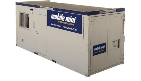 mini storage mobile al 8x20 portable storage portable office combo mobile mini