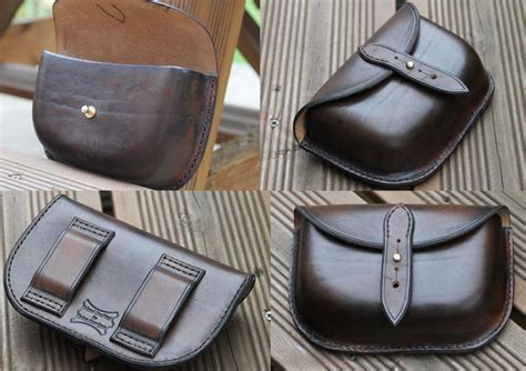 shop crafted leather belt pouch possibles pouch