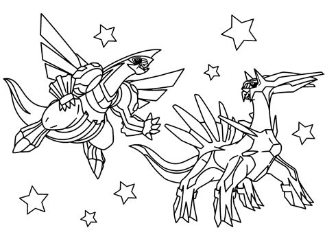 Legendary Coloring Pages Palkia legendary coloring pages palkia