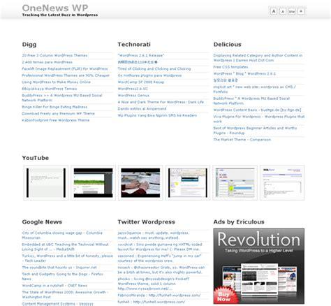 free wordpress themes computer technology create alltop popurls clone with free wordpress theme