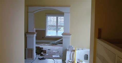 Paris Bedroom Decor how to frame an arch without expensive crown molding