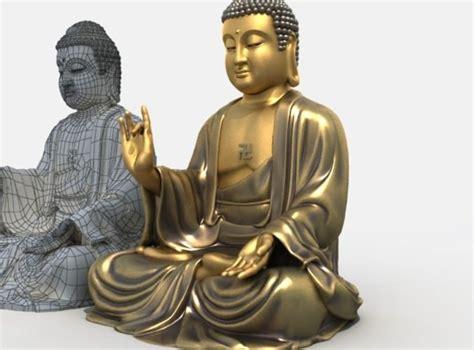 free download cgtrader models 3d models buddha statue 3d model max obj 3ds fbx stl cgtrader