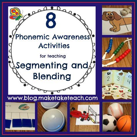 kindergarten activities phonemic awareness 8 great ideas for teaching segmenting and blending make