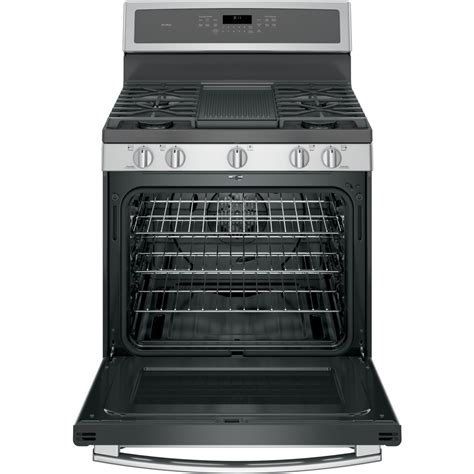 Oven Gas Standing pgb911sejss ge profile series 30 quot free standing gas