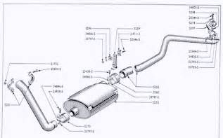 Exhaust System Parts Uk 87 107e Exhaust System Small Ford Spares